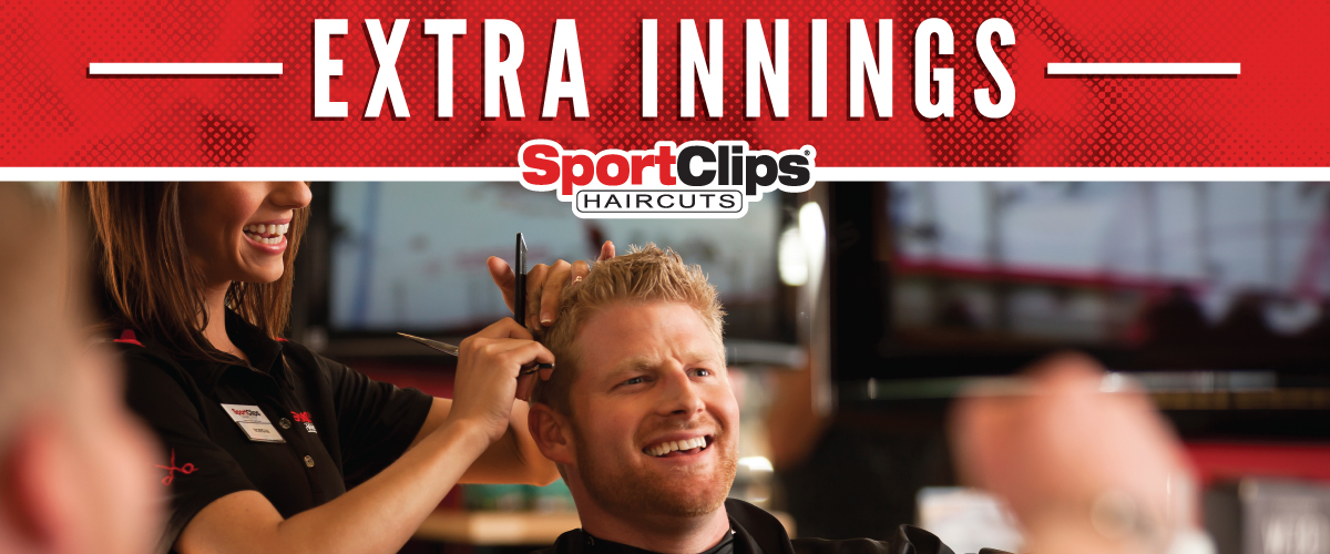 The Sport Clips Haircuts of The Market at Aliana Extra Innings Offerings